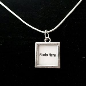 "Picture This Charm 20"" \.925 Sterling Silver Neckl"